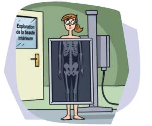 Mucoviscidose et radiographie